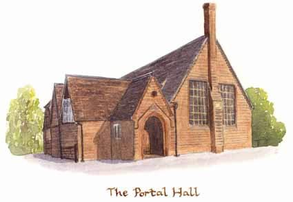 Portal hall